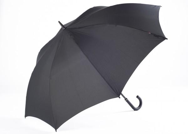 Knirps® Golf schwarz Stockschirm mit Rundgriff