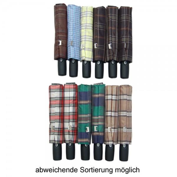doppler Regenschirm Magic Comfort Auf/Zu Automatik - Karo